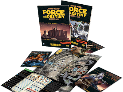 Star Wars Force and Destiny Caja de Inicio