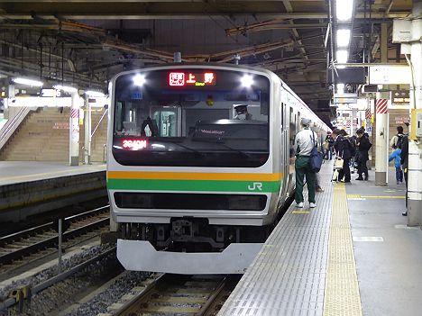 高崎線 快速アーバン 上野行き E231系