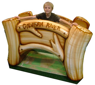 soft sculpted foam play playground equipment custom themed children toddler airport terminal  shopping center food court museum church ministries International Play Company Iplayco bridge nature themed