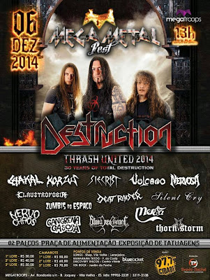 Destruction - Thrash United 2014 (Vila Velha - ES)