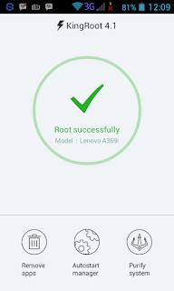 Cara Root Lenovo A369i Tanpa PC