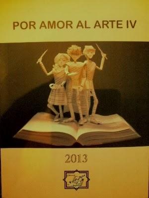 """Antología """"Por Amor al Arte"""" 2013"""