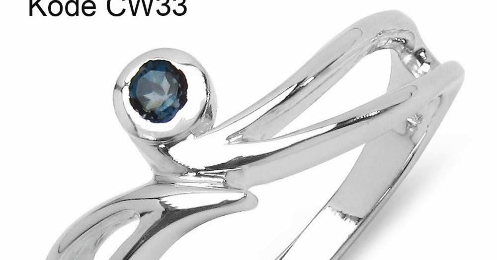 Cincin Perempuan Perak Kode CW33