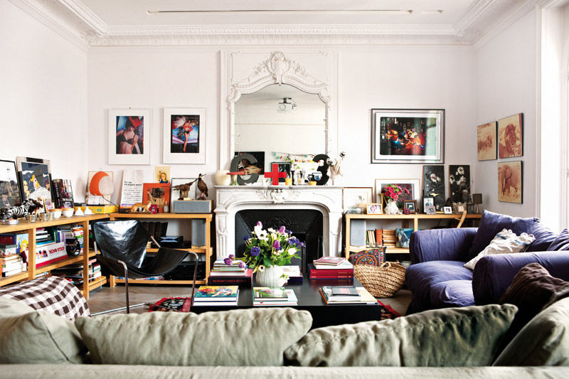 Decor inspiration a bohemian style apartment in paris for Decoration interieur appartement