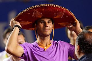 TENIS-Nadal está de regreso y Errani gana en Acapulco
