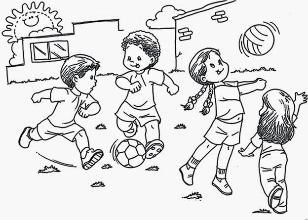 Jardin Escolar: Día del niño - Más Dibujos para colorear