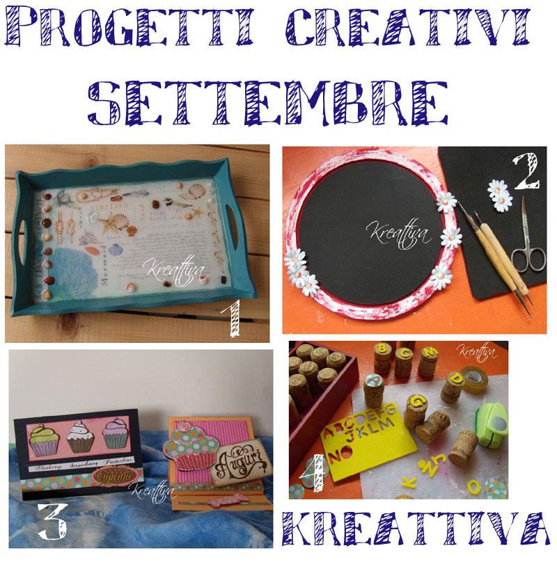 I miei progetti del mese di settembre raccolta cotto e for Crea i miei progetti gratuitamente