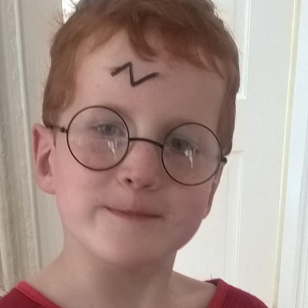 Ieuan as Harry Potter