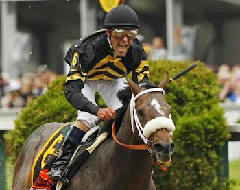It&#39;s Oxbow Winning the Preakness