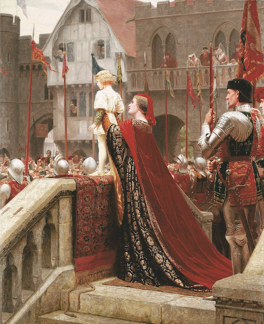 Regency,Edmund Blair Leighton,little prince