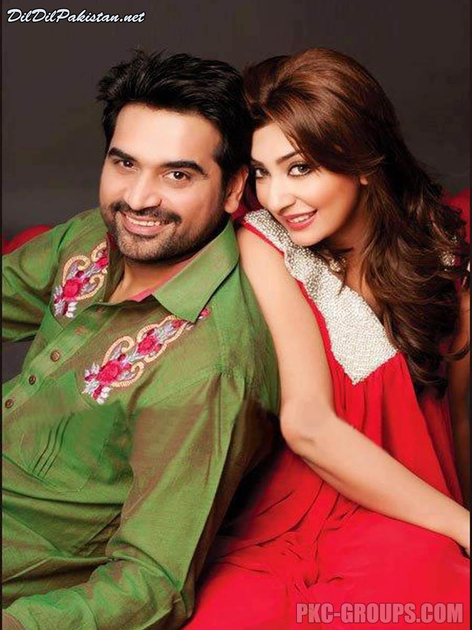 Humayun Saeed And Wife
