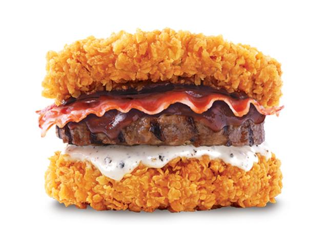 Chicken Beef Burger Chicken Beef And Pork