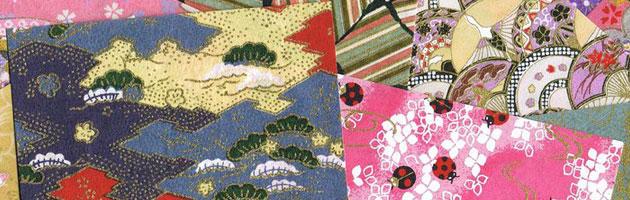 桜や扇子など日本のモチーフがたくさん使われています。 | 無料で使える和紙や千代紙のフリー和柄テクスチャー素材