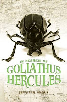 in search of goliathus hercules by jennifer angus book cover