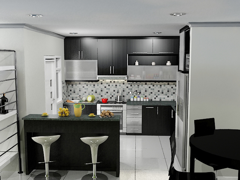 Kitchen cabinet set price kitchen set jati mayland for Kitchen set bawah