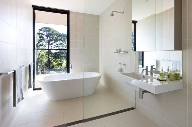 Hopscotch grand designs australia kyneton for Australian bathroom design ideas