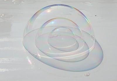 Burbujas concéntricas