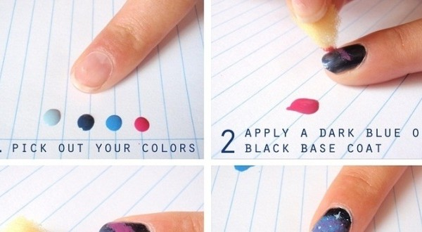 Diy galaxy nail art tutorial emaggy diy galaxy nail art tutorial prinsesfo Gallery