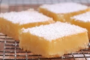 Low Carb Lemon Cheesecake Bars Recipe