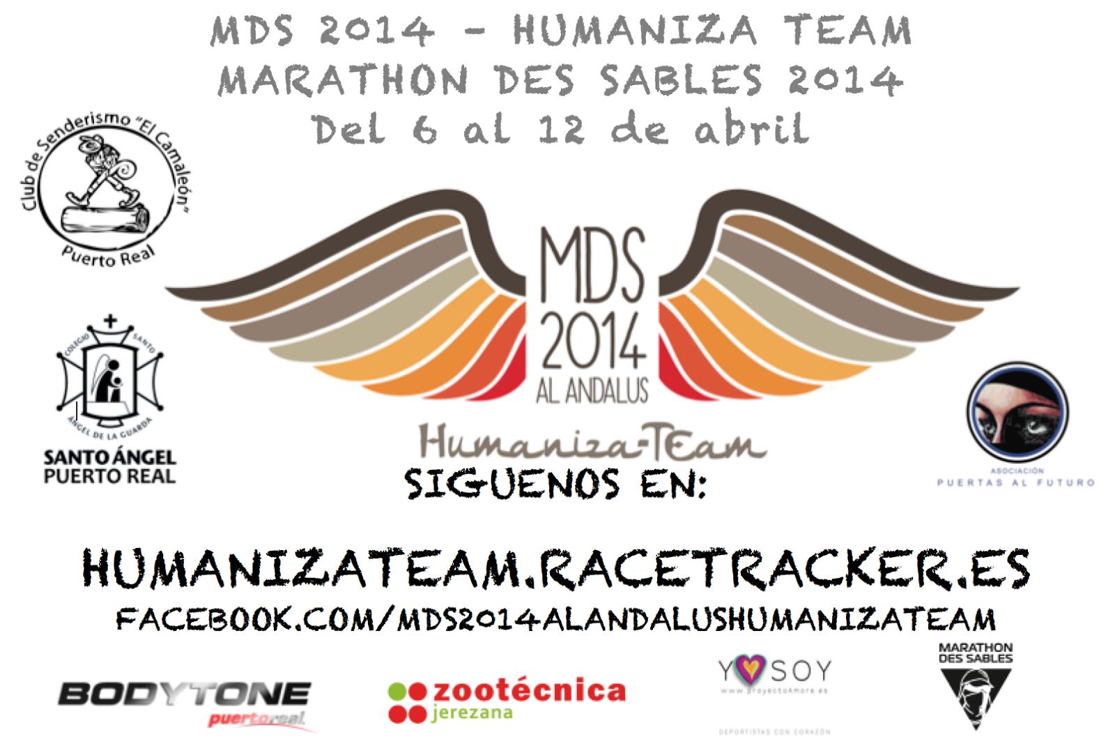 Marathon de Sables 2014