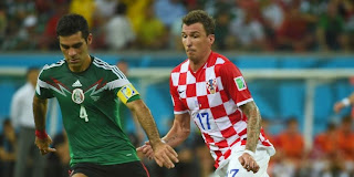Croatie 1 - 3 Mexique