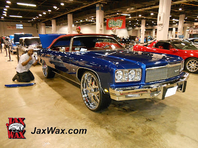 1975 Caprice Convertible Jax Wax Chicago World of Wheels