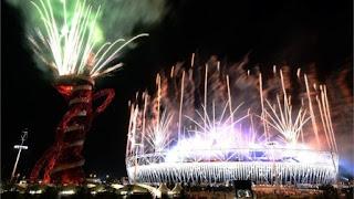 Kembang Api Penutupan Olimpiade