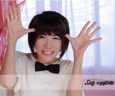 Gigi, Foto dan Biodata lengkap personil Cherry Belle