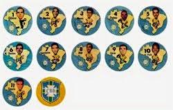 Cartelas Históricas da Coleção Onze de Ouro