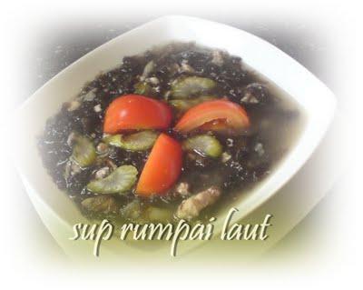 Sup Rumpai Laut Sabah Sup Rumpai Laut