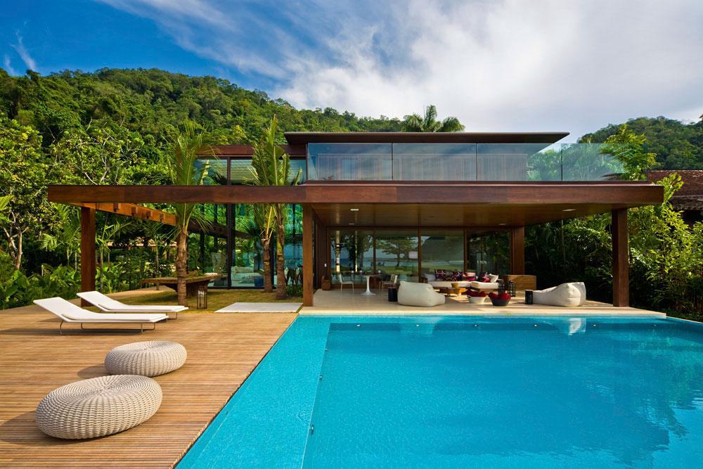 Casa detalles casa laranjeiras for Fotos de casas modernas brasileiras