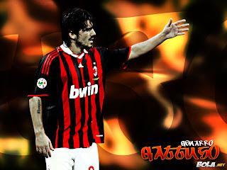 Gennaro Gattuso Ac Milan Wallpaper 2011 7