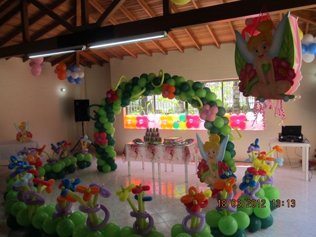 FIESTAS INFANTILES Y DECORACION ARCOS DE GLOBOS CHIQUITECA TEMATICAS LETREROS EN ICOPOR