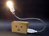 モバイルバッテリならどこでも点灯可能に