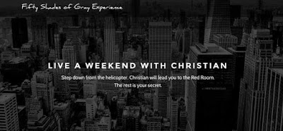 live a weekend with christian - fifty shades of grey experience