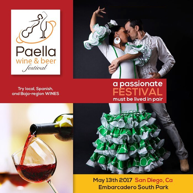 Save on passes & Enter to win tickets to the San Diego Paella, Wine & Beer Festival - May 13!