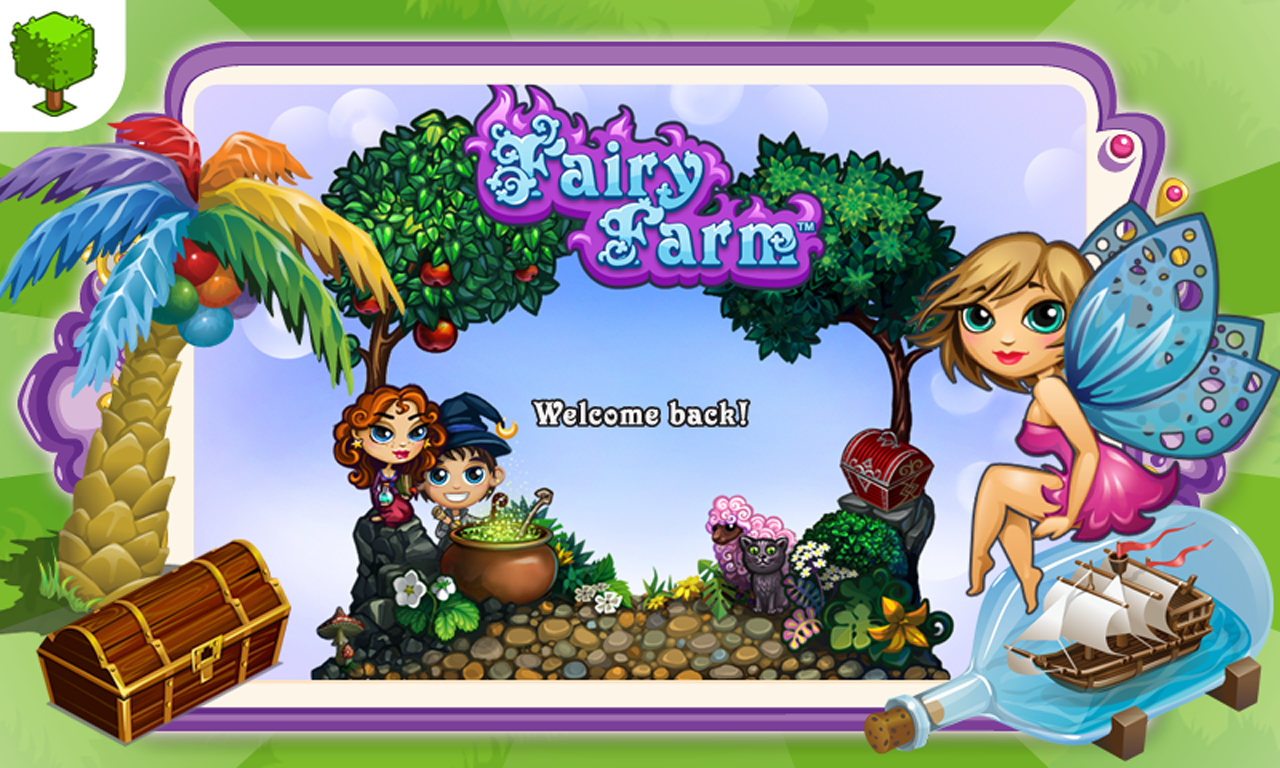 Fairy Farm MOD APK+DATA (Unlimited Gems/Coins)