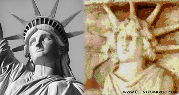 Όταν ο Φωτοφόρος Απόλλων, έγινε το …»Άγαλμα της Ελευθερίας» στην Αμερική!