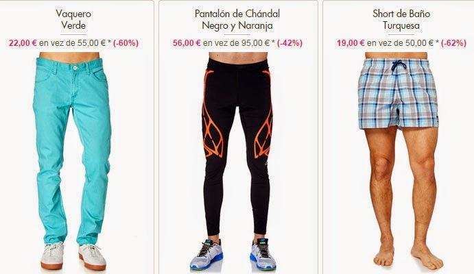 Pantalones y bañador de Adidas