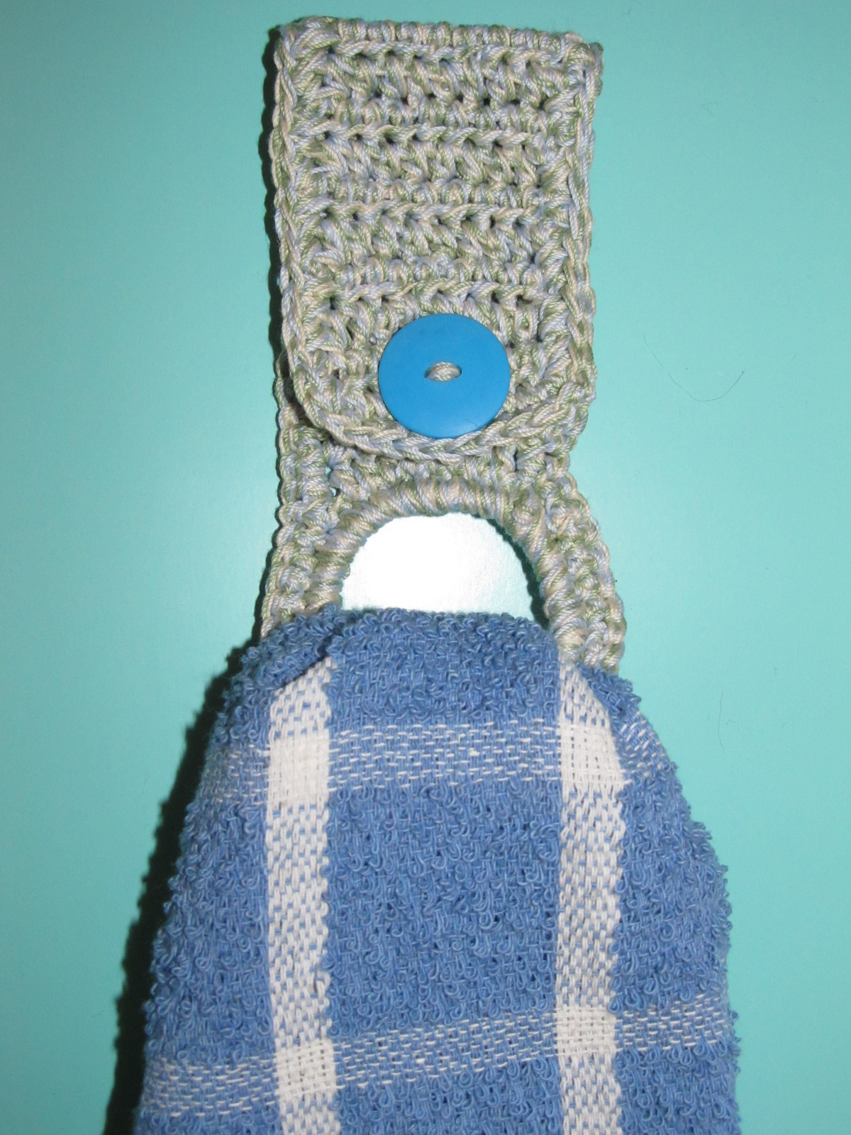 Simply Crochet and Other Crafts: Towel Holder