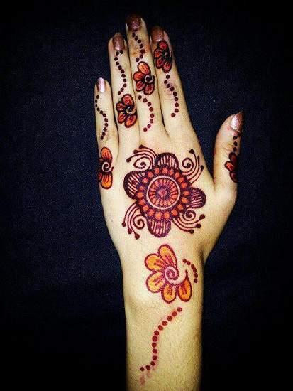 Easy Mehndi Design Images Download
