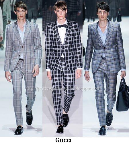 Gucci мъжки костюми 2012
