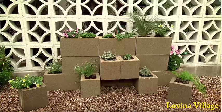 How To Build A Cinder Block Garden Wall