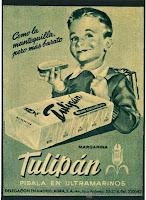 magarina, tulipan, publicidad clasica, mantequilla, margarine, beurre,