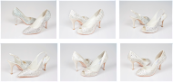 Wholesale Designer Shoes covered with Swarovski Crystals