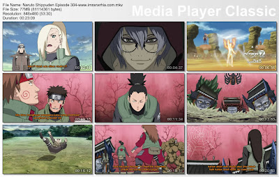 "Download Film / Anime Naruto Episode 304 ""Jurus Transfer ke Neraka"" Shippuden Bahasa Indonesia"