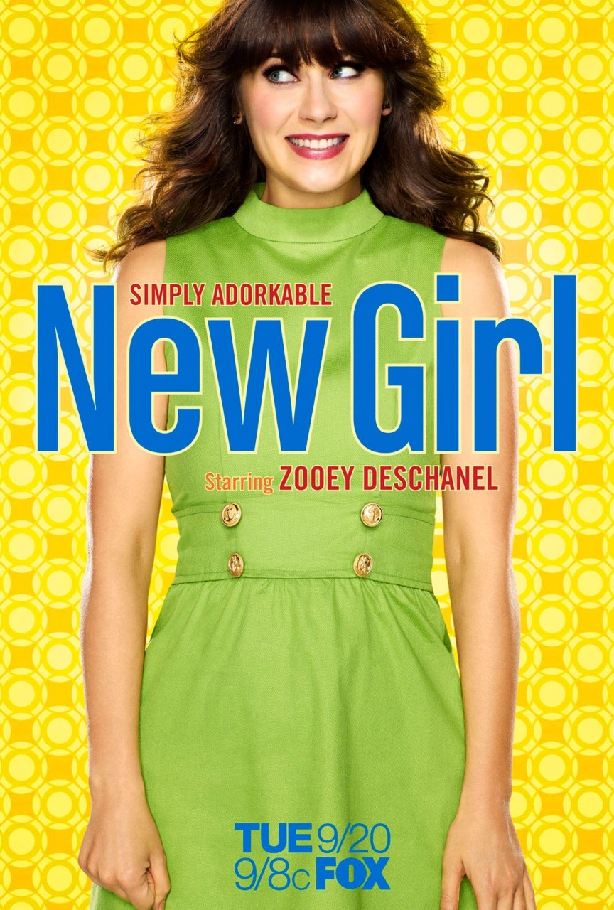 new girl poster 1 Assistir New Girl Online