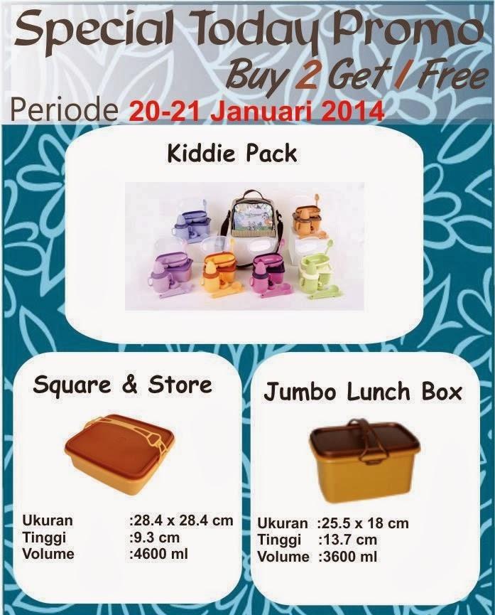 Promo Tulipware 20 dan 21 Januari 2014
