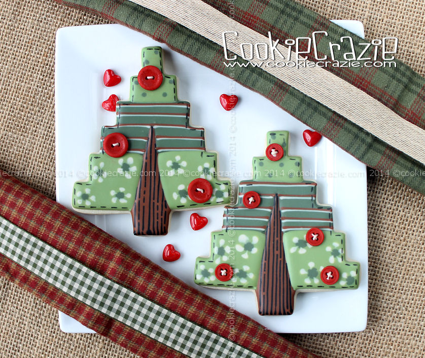 http://www.cookiecrazie.com/2014/12/quilted-christmas-tree-cookies-tutorial.html