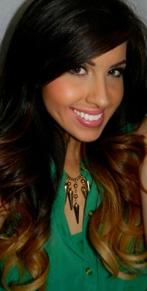 Ombre Hair Color for Dark Hair